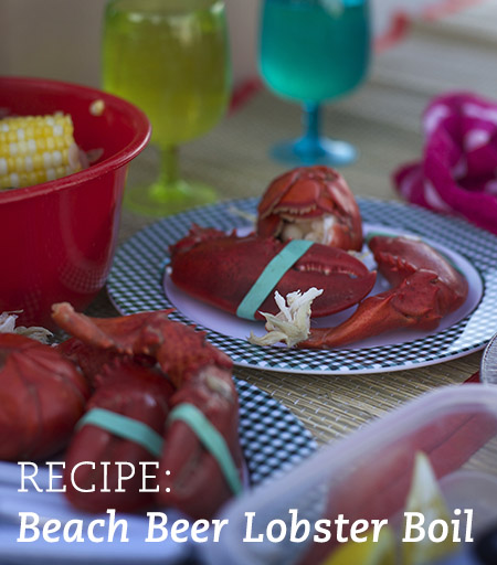 Lobster Beer Boil